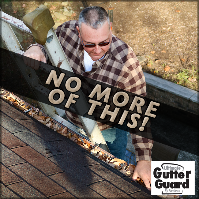 Cleaning Out Gutters Can Be A Dangerous Job Every Year People Are Injured From Falls Because They Were Cleaning Out Dangerous Jobs Clogged Gutter Gutter Guard