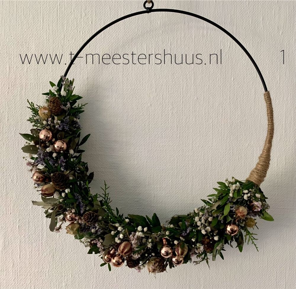 T Meestershuus Nl Kerst Ideeen Woonkamer Decoratie Krans