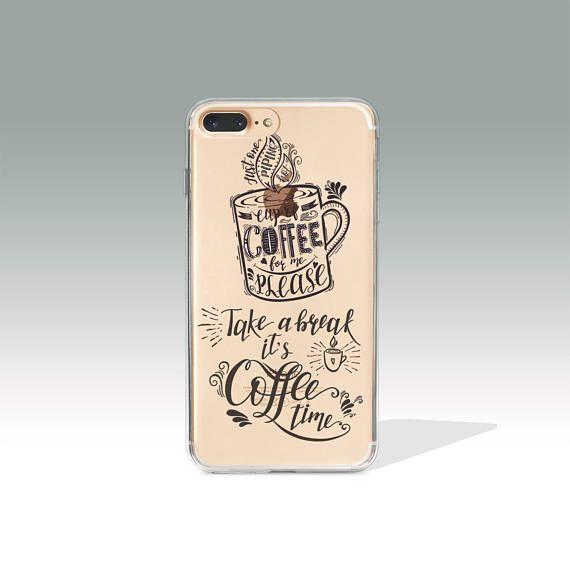 iphone 7 case coffee