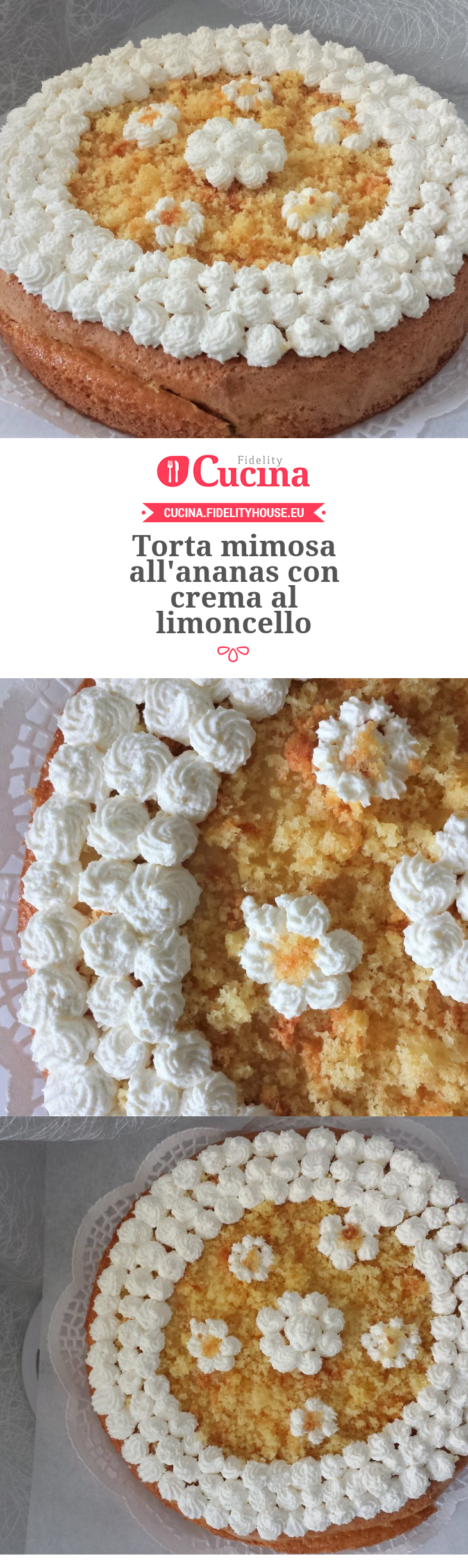 Torta Mimosa Allananas Con Crema Al Limoncello Rezept Kuchen