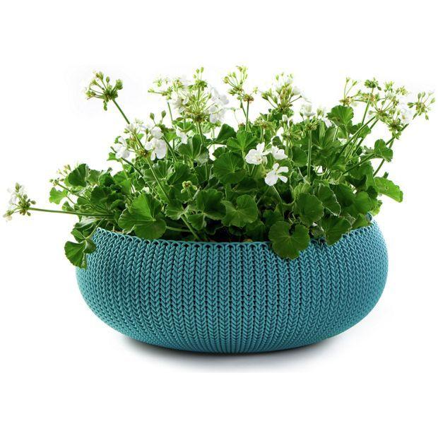 Buy Keter Large Round Planter At Argos.co.uk, Visit Argos.co. Garden PlanterGarden  PotsPlantersGarden ...