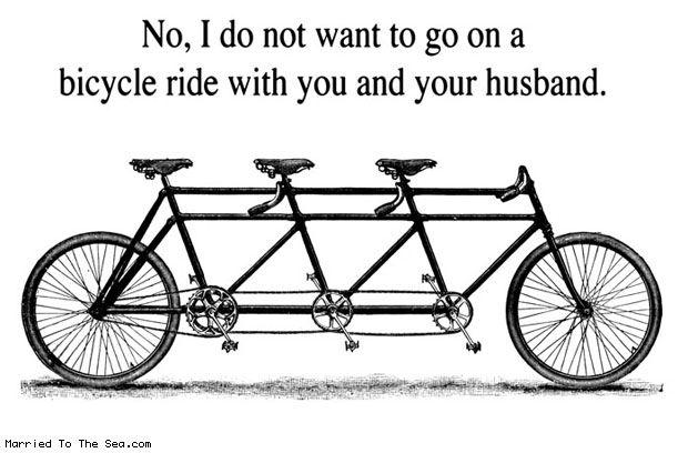 3 Person Bike Bicycle Art Recycled Bike Bits