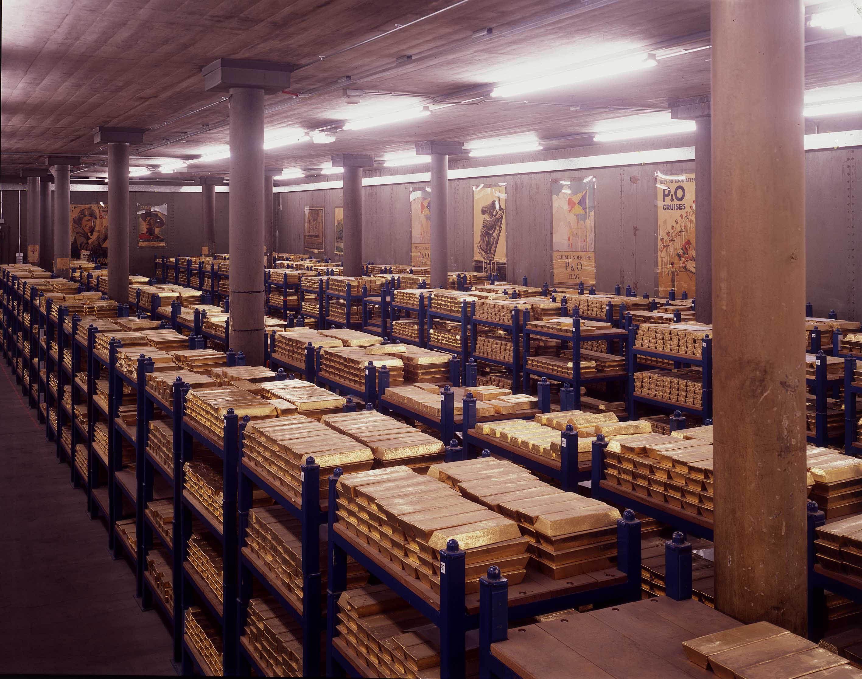 Gasp Over Hundreds Of Billions In Gold At Bank Of England Gold Reserve Gold Purchase Gold Vault
