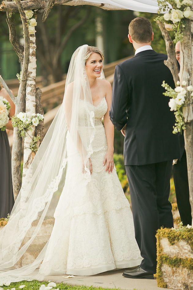 voile long de mariage