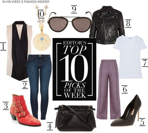 """""""EDITOR'S TOP 10 PICKS OF THE WEEK"""" by boutique1 ❤ liked on Polyvore"""
