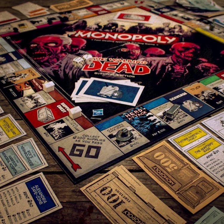 The Walking Dead Monopoli