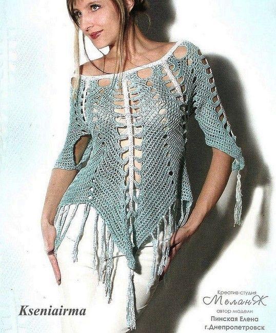 Hermosas túnicas, con puntos fantasía, junto con sus patrones libres ...