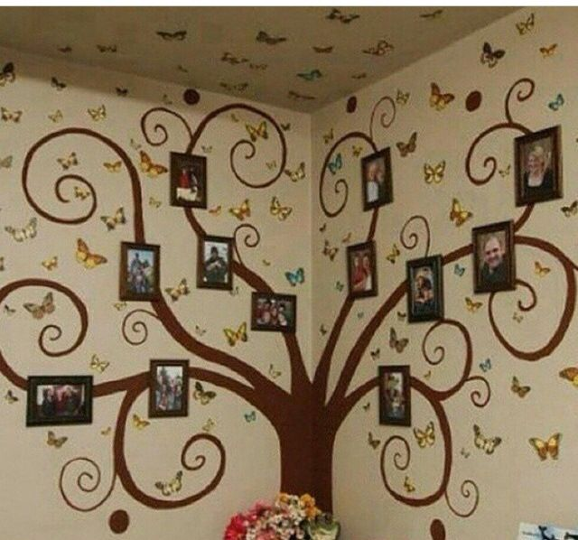 Rbol familiar de fotos para mural proyectos que - Diseno arbol genealogico ...