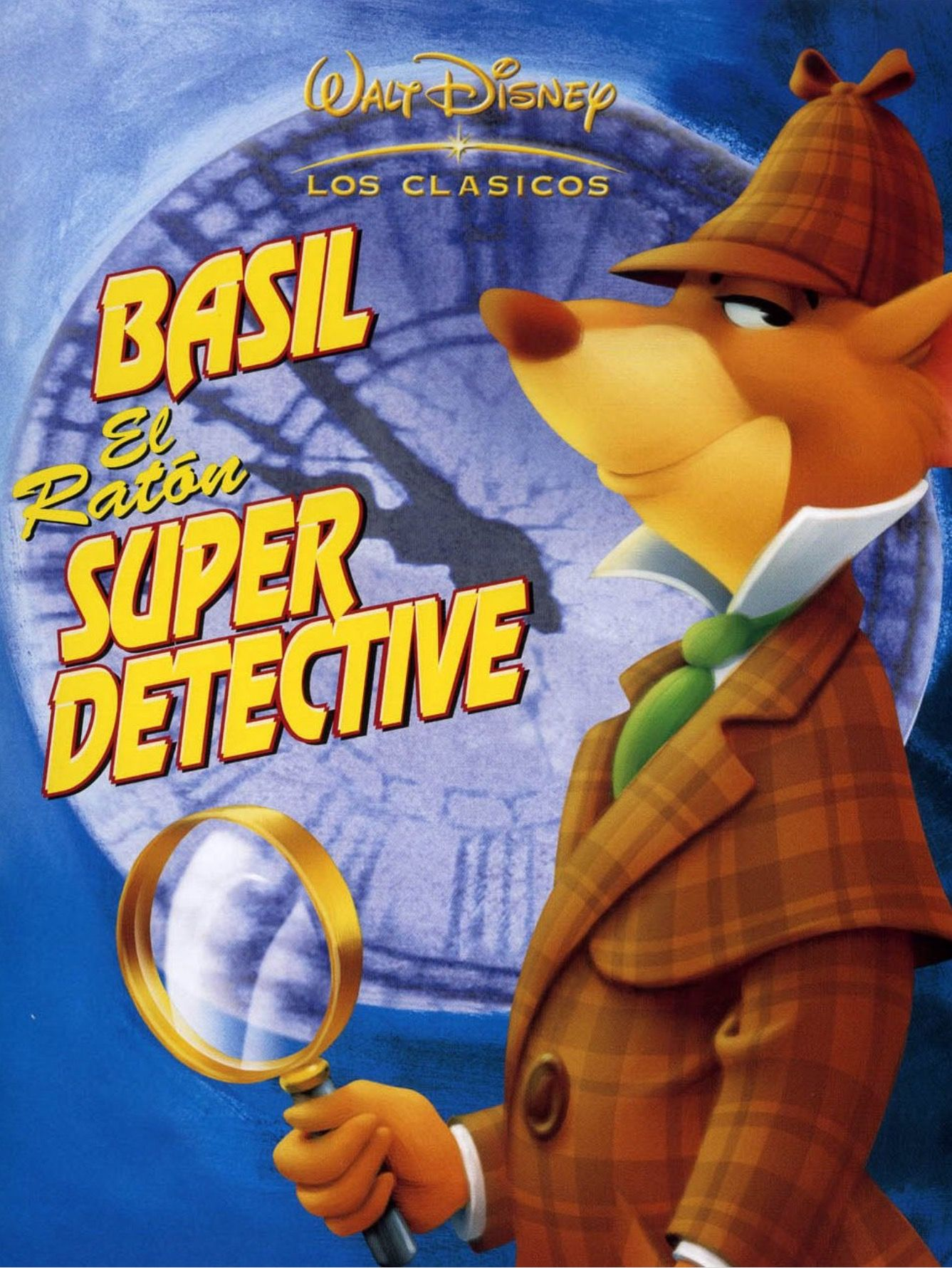 Basil El Ratón Superdetective The Great Mouse Detective 1986