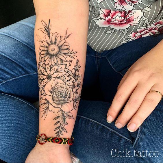 Photo of 100+ Les Plus Beaux Designs De Tatouage De Fleurs Tatouages # Flowertattoos – Tatouages de fleurs