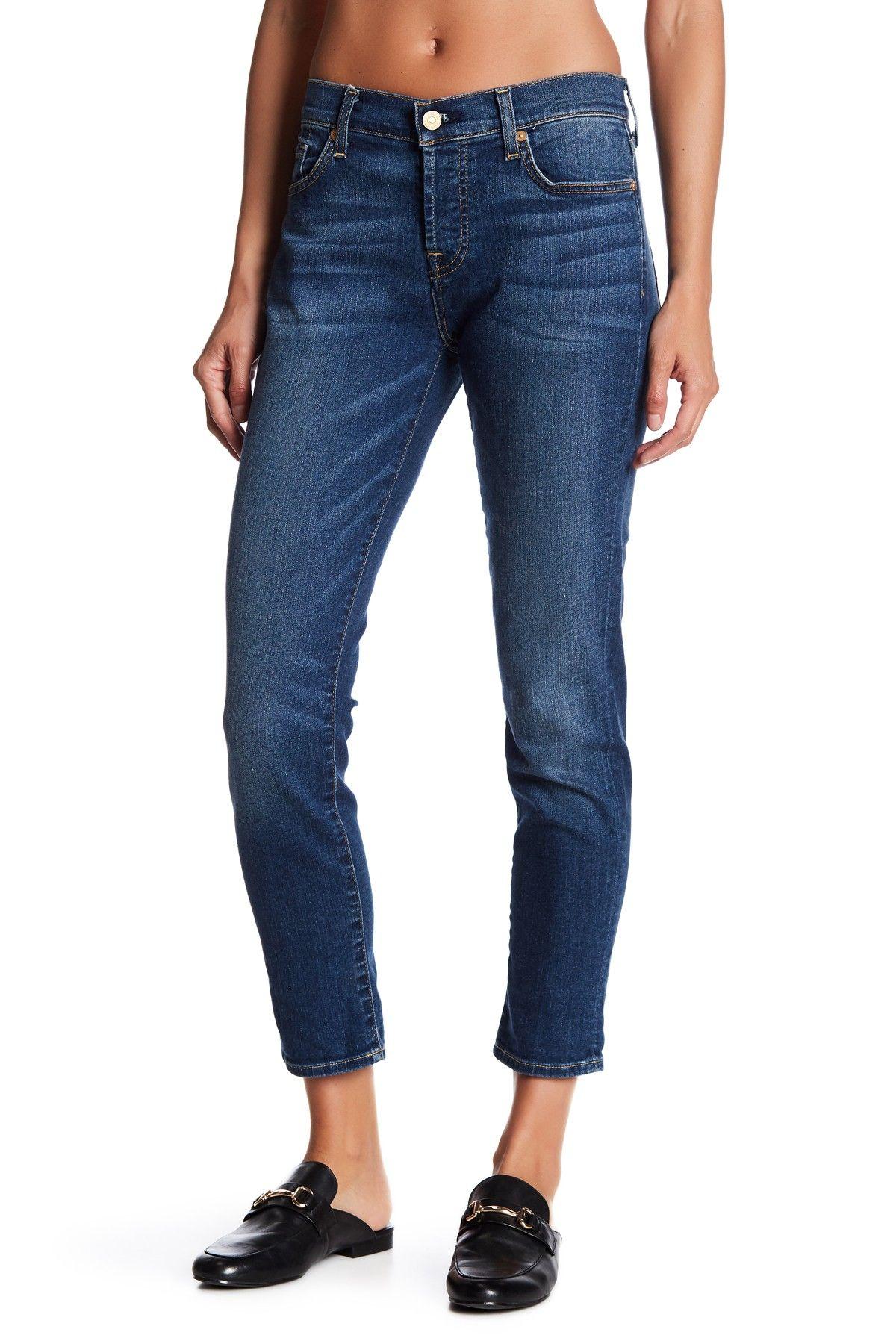 7 For All Mankind The Josefina Skinny Boyfriend Jeans