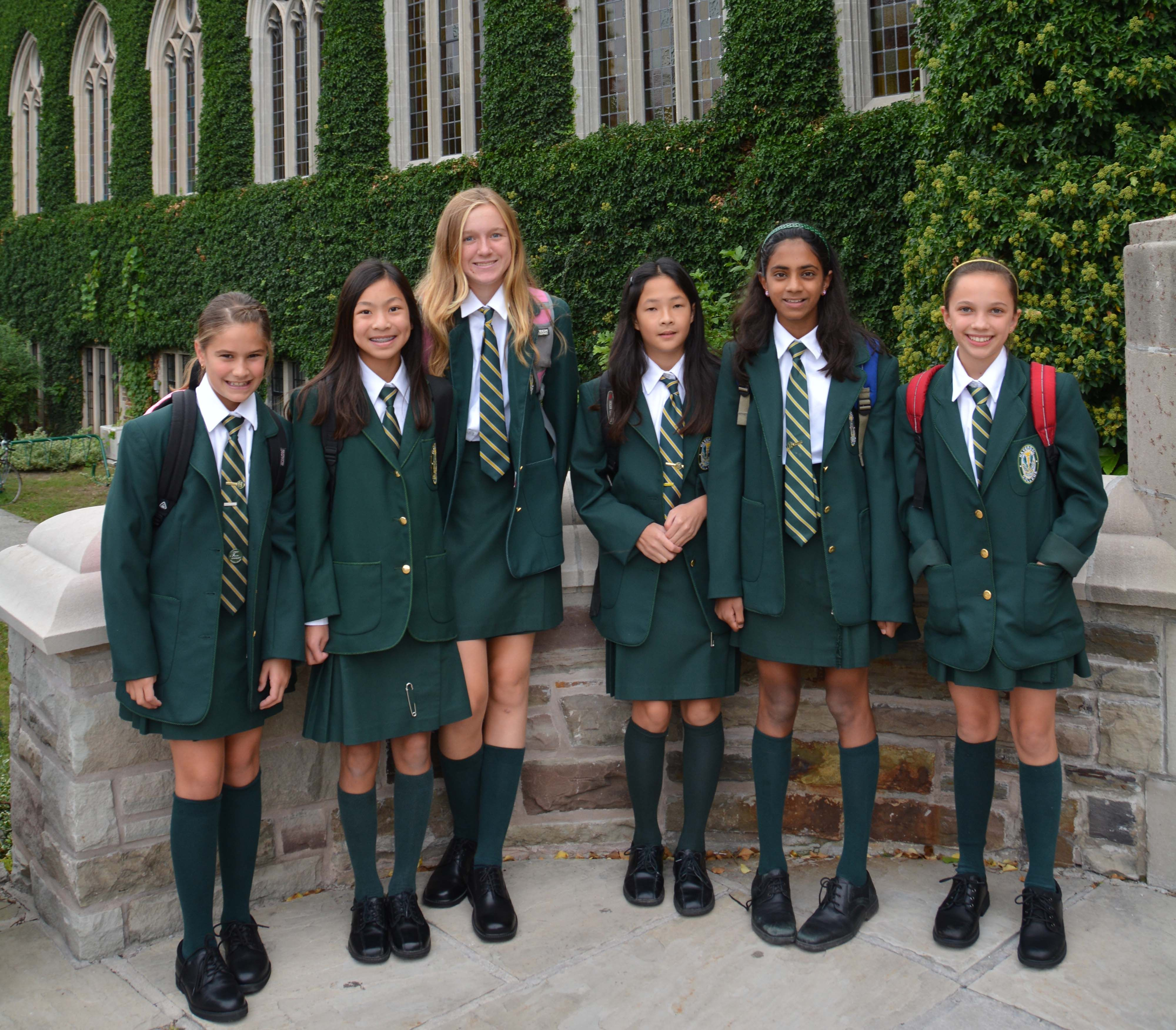 Private school uniforms and dress codes
