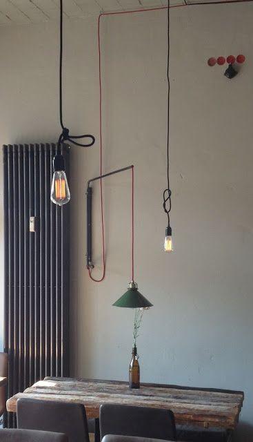 Atelier B71: Industrielampen