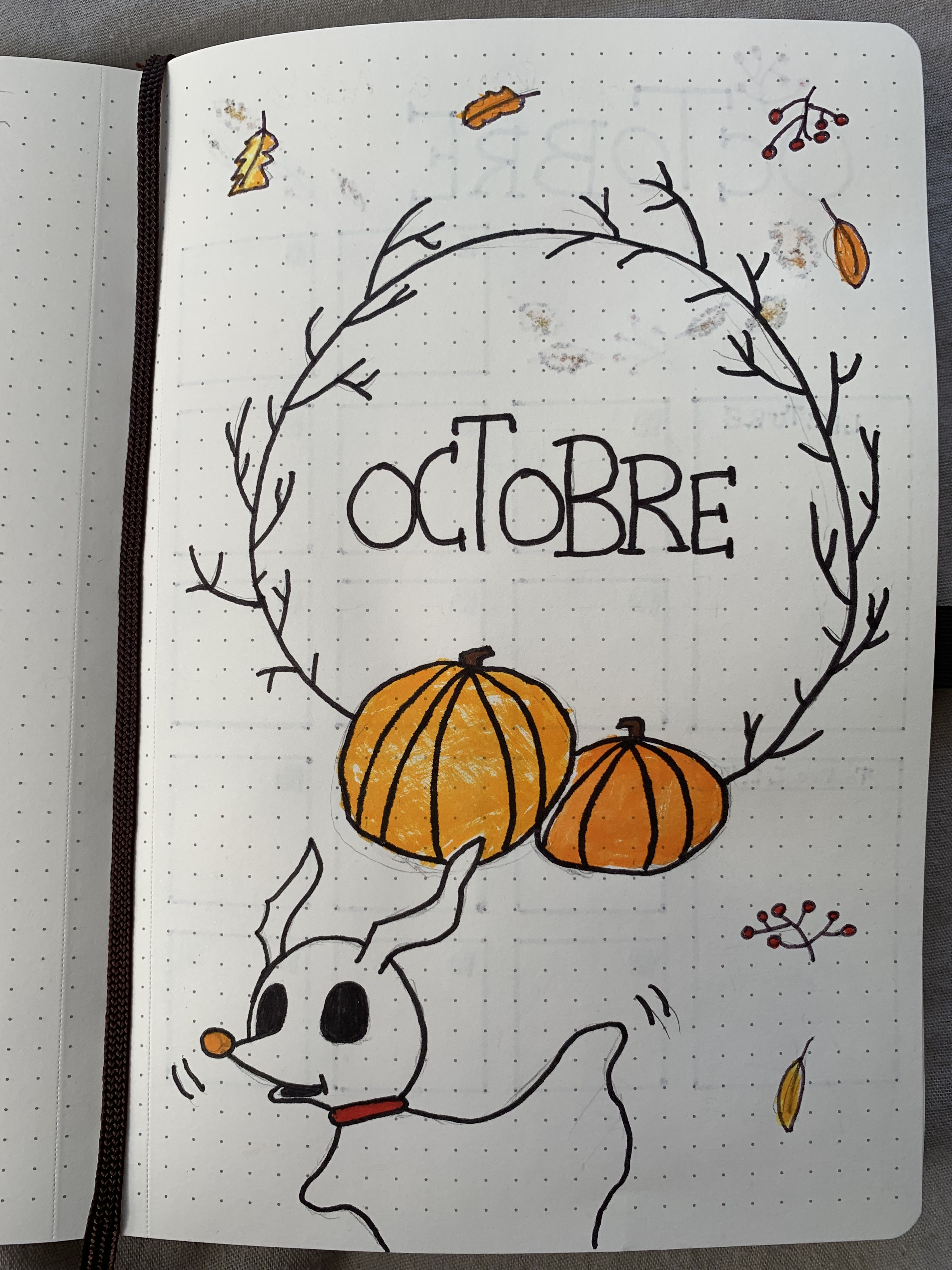 Bullet Journal d'Octobre