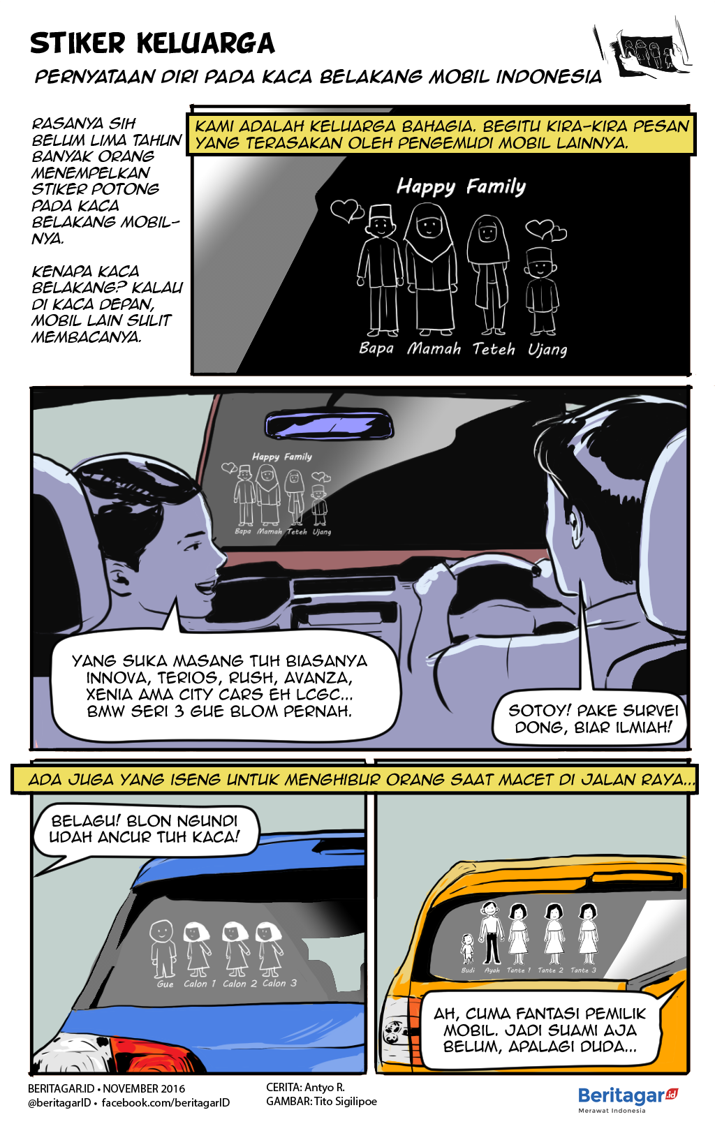 460+ Gambar Kartun Di Kaca Mobil Gratis Terbaru