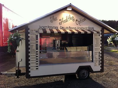 Catering Trailers Ebay Catering Trailer Food Truck Mobile Catering