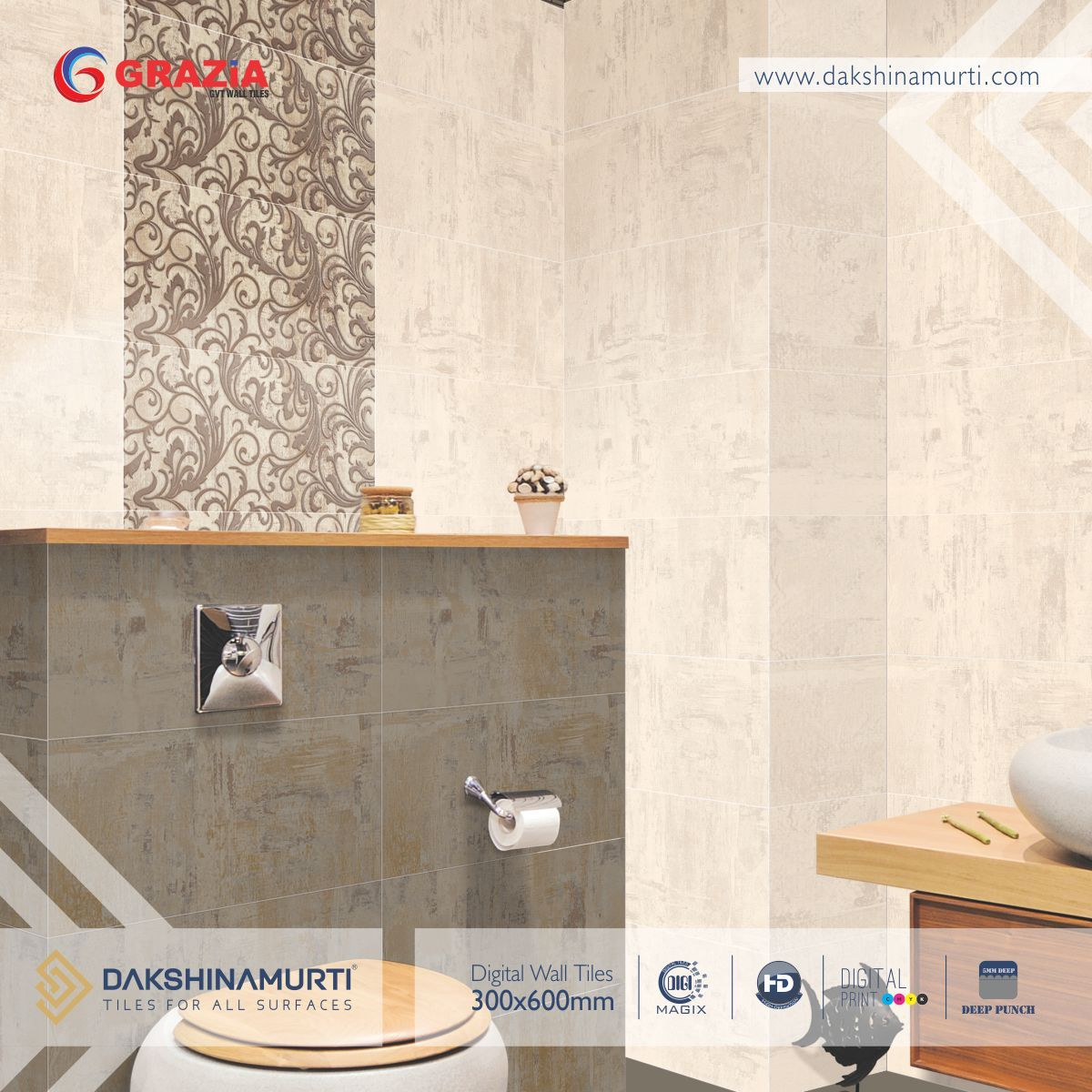 Let your walls depict your love for eminence and elegance by fixing ...
