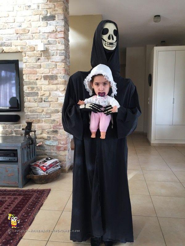 childs alien abduction costume becomes adult grim streaker - Aliens Halloween Costume Baby