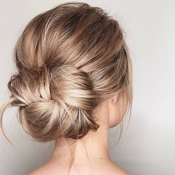 Bun Hairstyles Boho Messy Bun Hairstylesmessy Updo Hairstyles Braid Hairstyle To