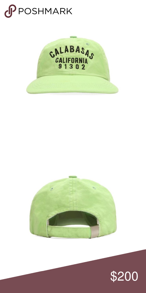 f6f7ebf2bc525 Yeezy Calabasas Hat Frozen Yellow hat from latest Yeezy Calabasas drop.  Designed by Kanye West. 100% authentic. Purchased from Yeezy Supply.