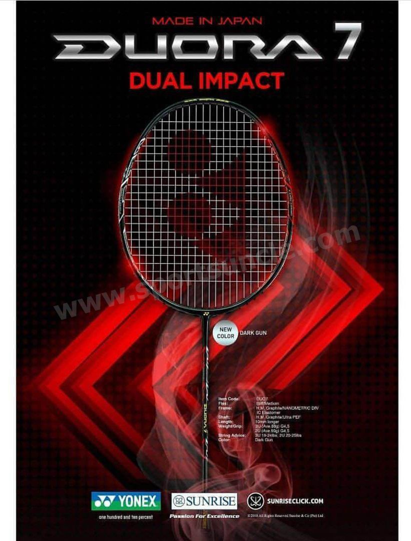 293f6f04106 Buy Yonex Duora 7 Badminton Racket   Lowest Prices - Sportsuncle