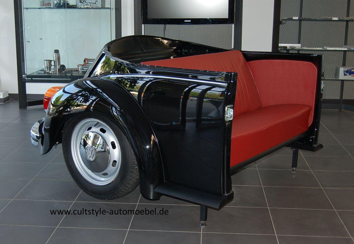 Automöbel cultstyle auto möbel vw käfer 1303 sofa bastelideen