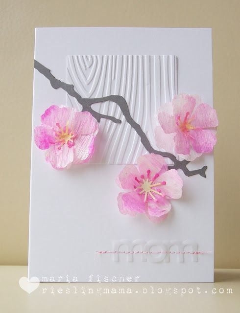 Watercolored Cherry Blossoms Moxie Fab Sss Atcas With Images