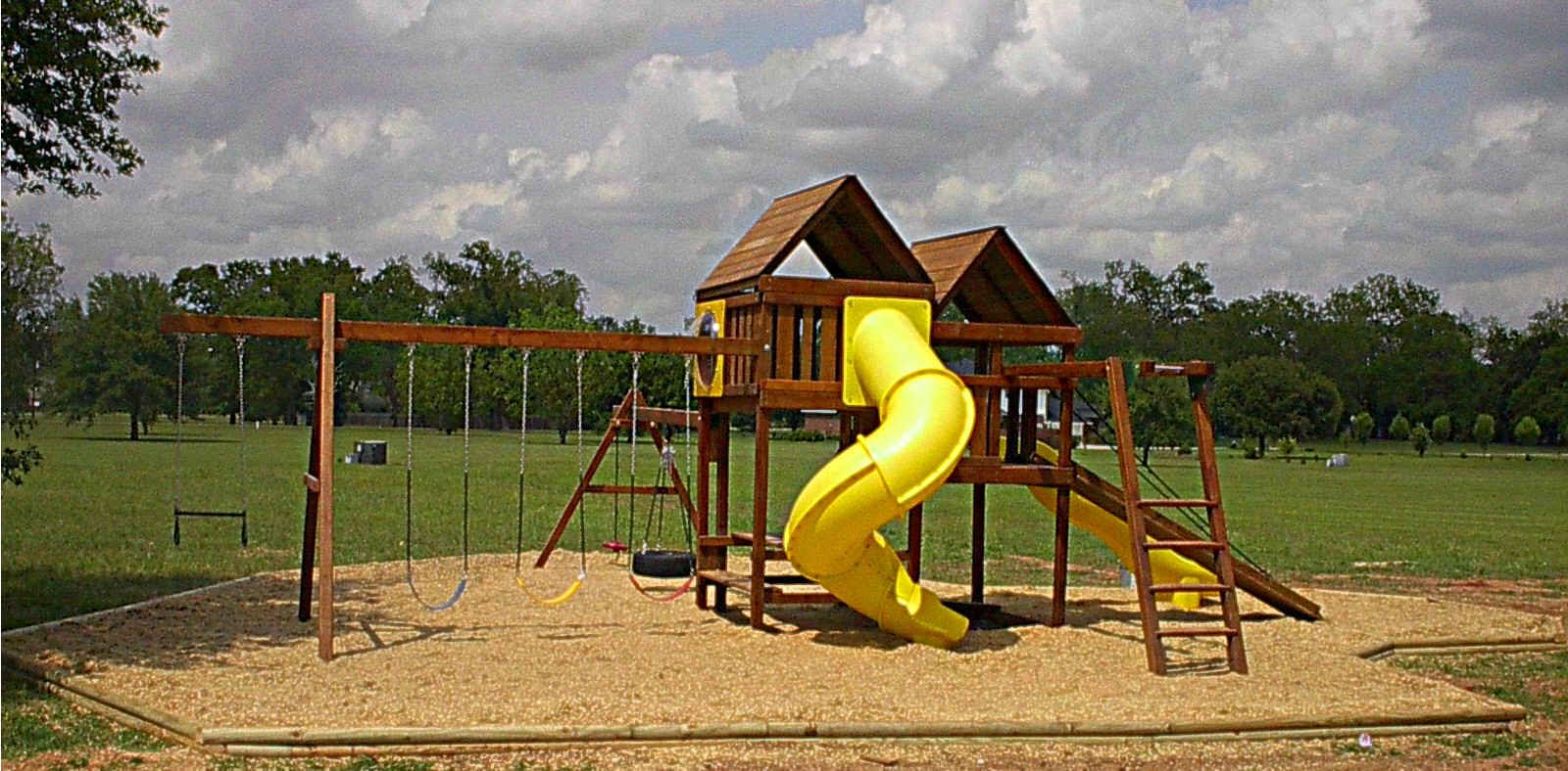 Use my diy gemini fort swing set plans to build your own for Playground building plans