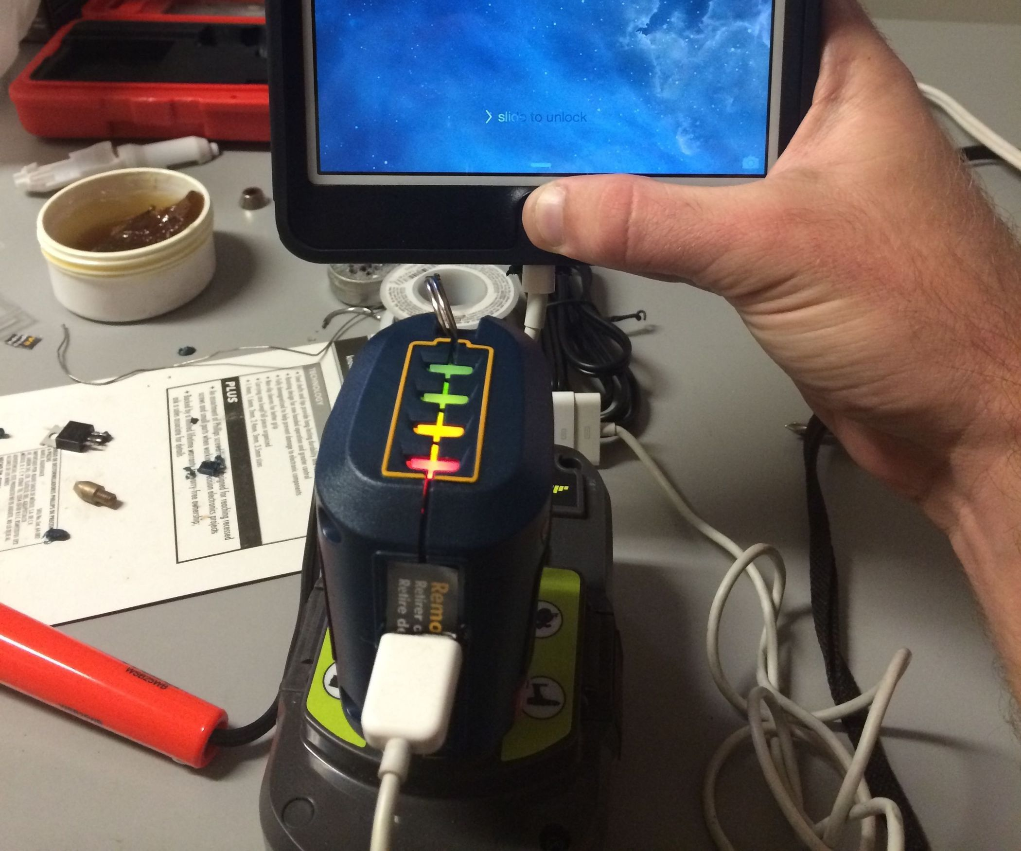 Hack 2 Devices For A Cheap Portable Usb Charger And Ryobi Battery Replacement By Lm317 Charge