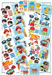 14 A5s Boys Variety Bumper Kit on Craftsuprint - View Now!