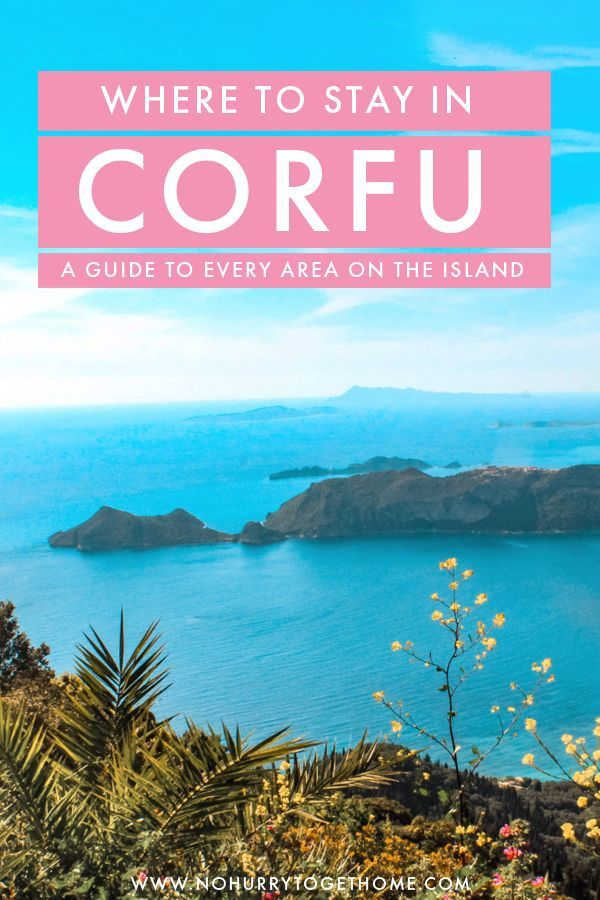 Where To Stay In Corfu: A Guide To Every Village On The