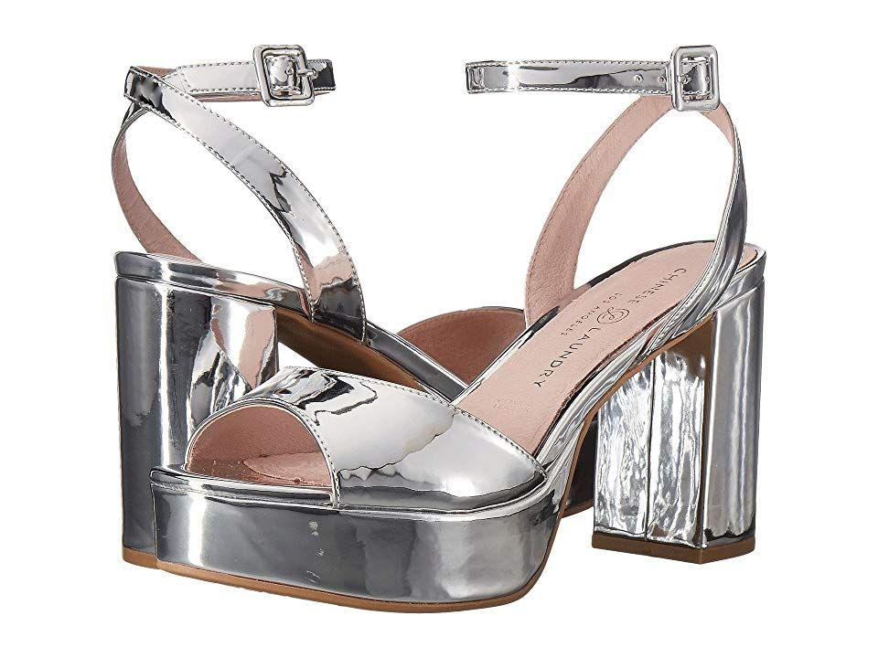 Chinese Laundry Theresa Silver Mirror High Heels Elevate Your