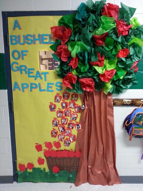 Fall Tree Classroom Door Decorations : Fall classroom door preschool pinterest