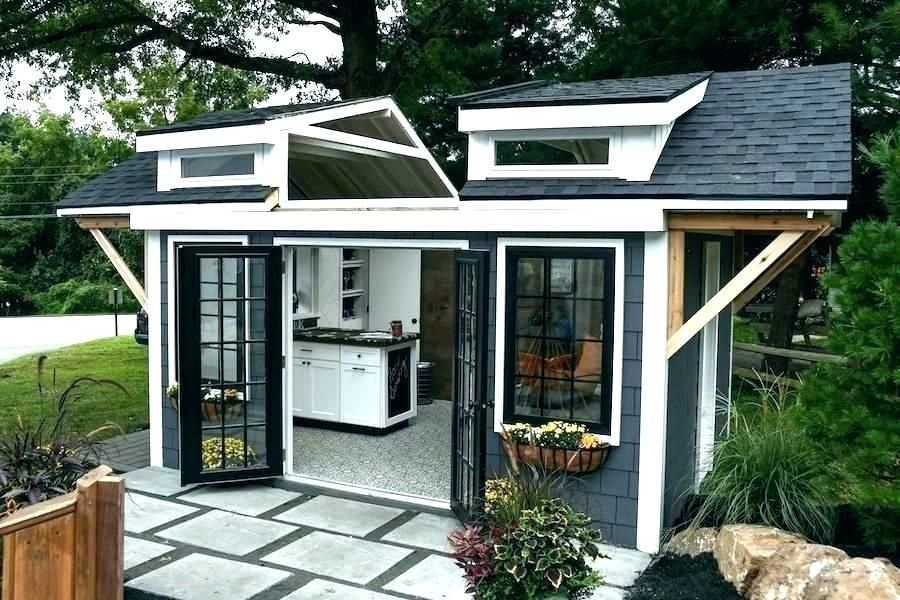 Ideas For A Small Shed You Ve Never Thought About See It Yourself Shed Design Backyard Guest Houses Building A Storage Shed