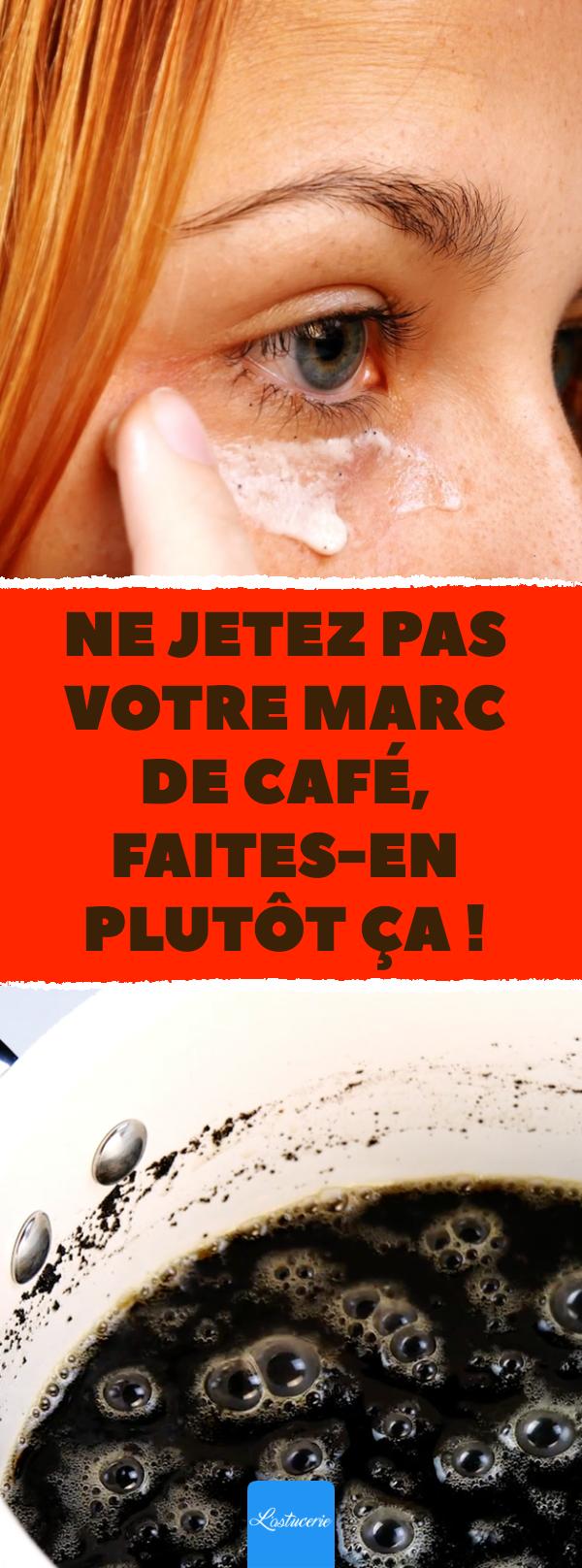 8 raisons de ne pas jeter le marc de café.