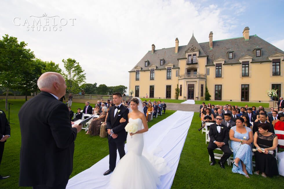 Oheka Castle Wedding | Oheka Castle Wedding Ceremony Wedding Ceremony Pinterest