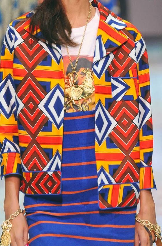 PRINTS, PATTERNS AND DETAILS FROM S/S 14 WOMENSWEAR COLLECTIONS, MILAN FASHION WEEK / 4