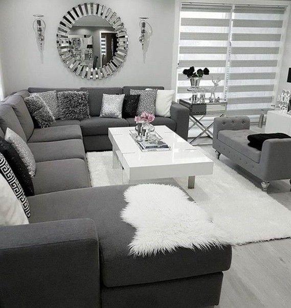 Design An Elegant Bedroom In 5 Easy Steps: Living Room Decor Modern Chic Grey 37 In 2020