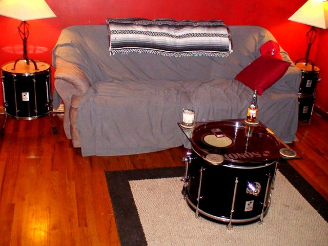 drum furniture. Weu0027re Converting His Drum Set Into Furniture D