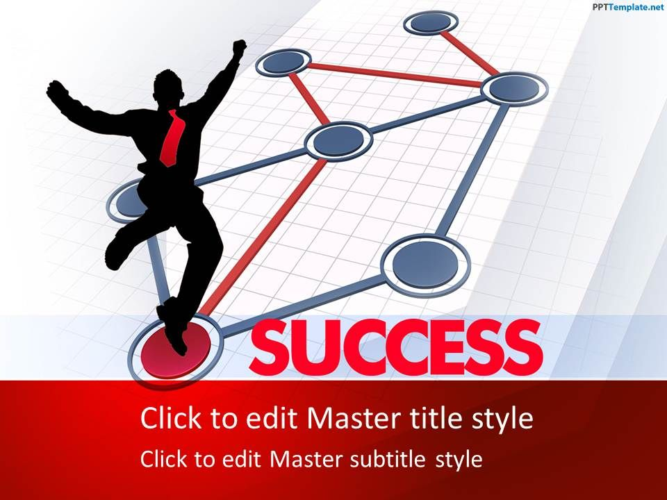 free success ppt template is a business ppt template for, Powerpoint templates