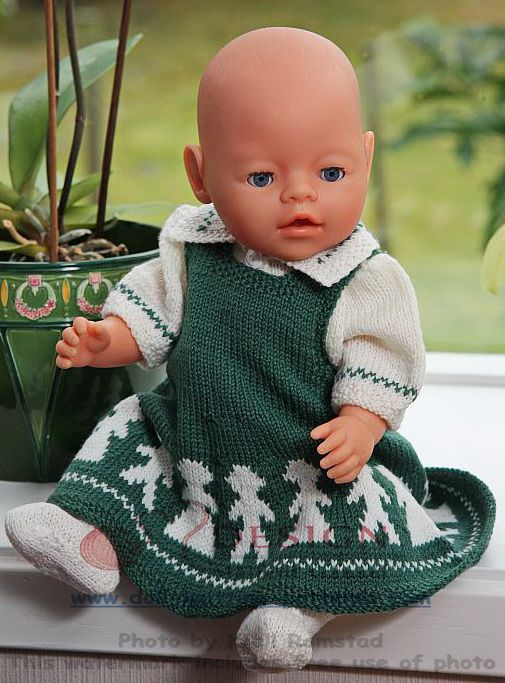 knitting patterns for doll clothes (With images)   Baby ...