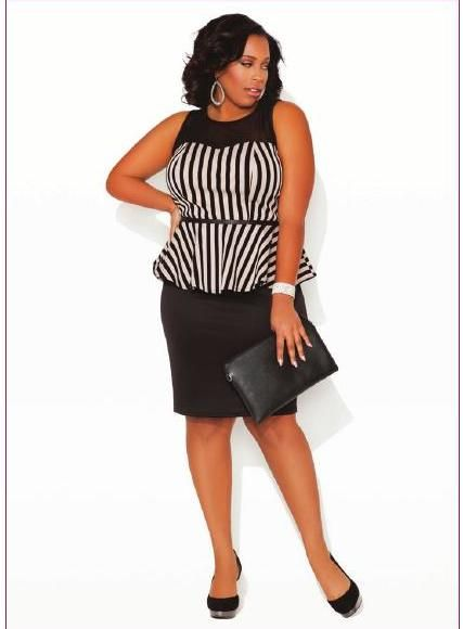 It's cute though...almost Christmas party season#ClippedOnIssuu from Ashley Stewart Spring 2014 Lookbook