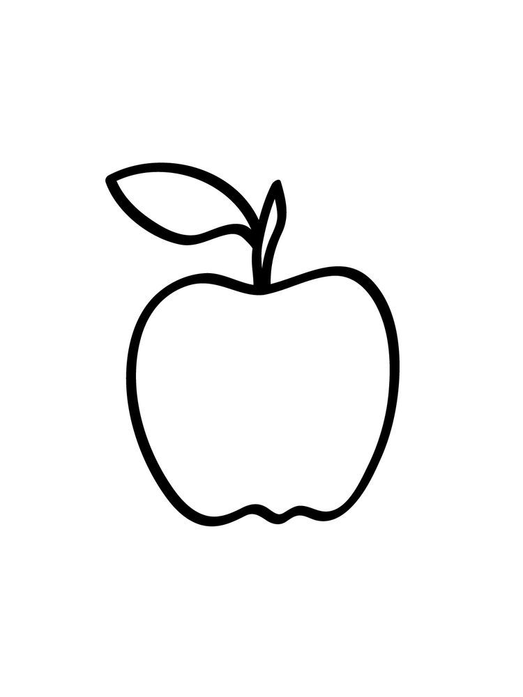 Apple Coloring Pages Pdf Apples Are One Of The Fruits That Many People Like Apart From Its Taste It Is Al Apple Coloring Pages Apple Coloring Coloring Pages