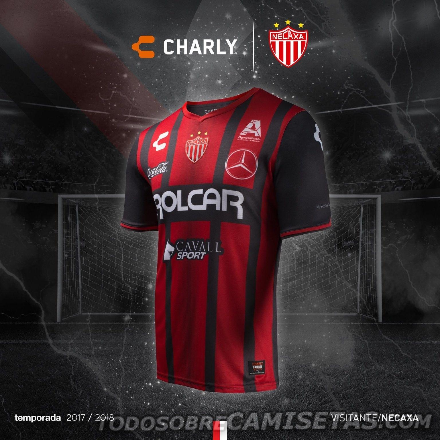 Uniformes Charly Futbol de Necaxa 2017 - Todo Sobre Camisetas ... 05d9ba343086c