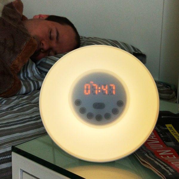 Lumina heräämisvalo / herätyskello 30€