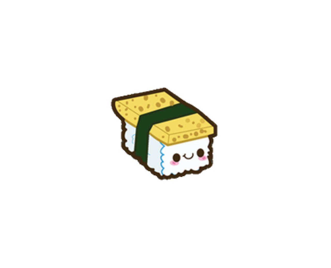 Happy sushi Scrapbooking clipart