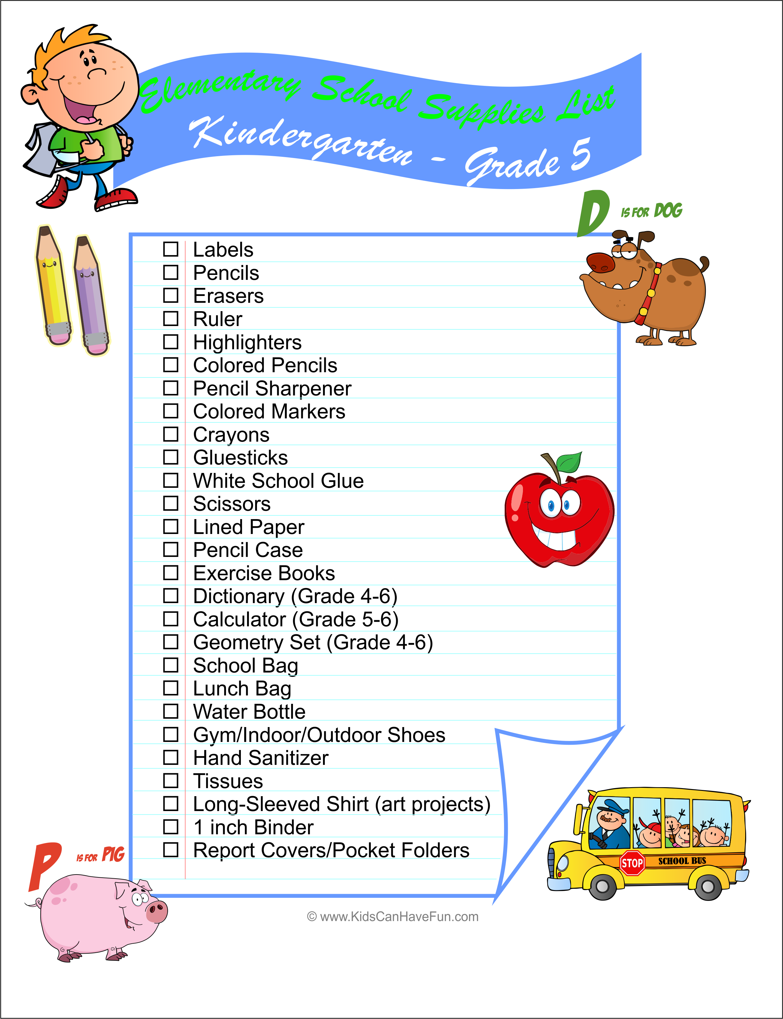 A Back-to-School Checklist for Teens Only best photo