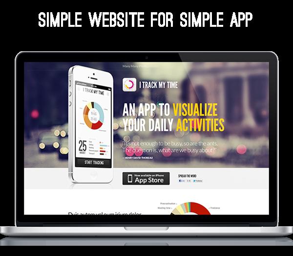 iTrackMyTime App for iPhone by Aleksej Tišionok, via Behance