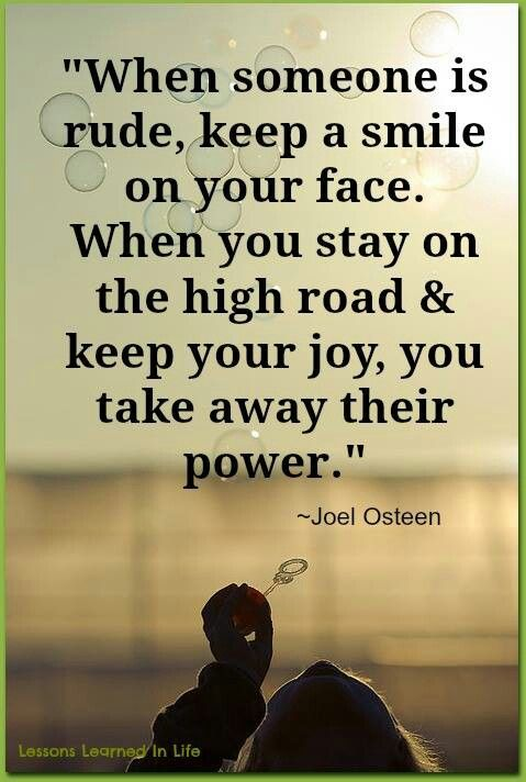 Facebook Lessons Learned in Life quotes Joel Osteen
