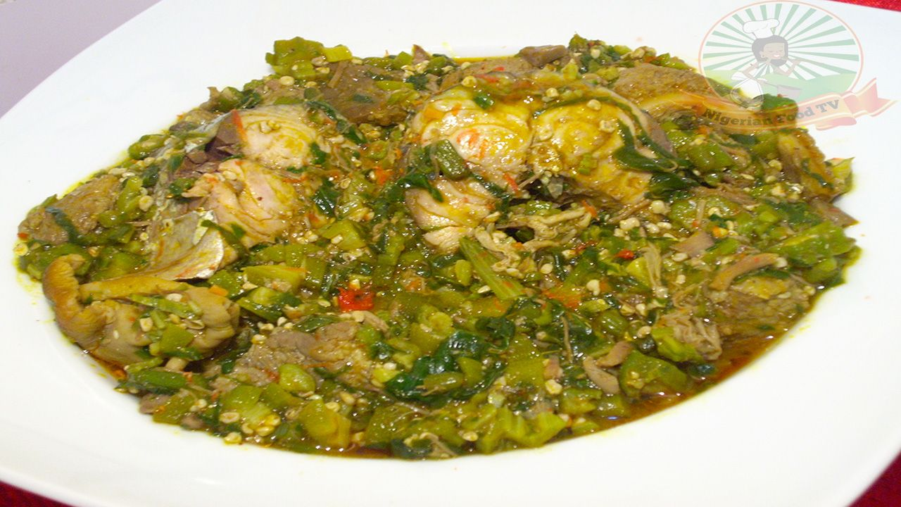 Nigerian food recipes tv nigerian food blog nigerian cuisine nigerian food recipes tv nigerian food blog nigerian cuisine nigerian food tv african food blog nigerian okra soup obe ila with fresh fish and forumfinder Images